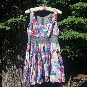 Fabulous Colorful Cotton Summer Dress